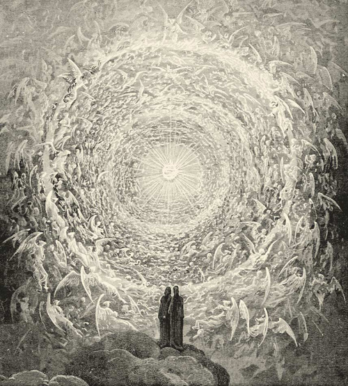 The Empyrean, by Gustav Doré, from The Divine Comedy